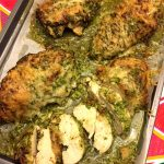 Baked Pesto Chicken Recipe With Parmesan Cheese
