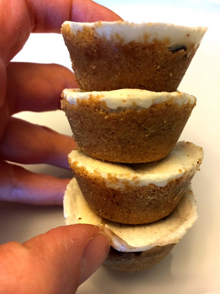 Marshmallow Graham Cups