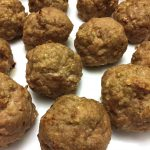 Baked Gluten-Free Meatballs With Oatmeal