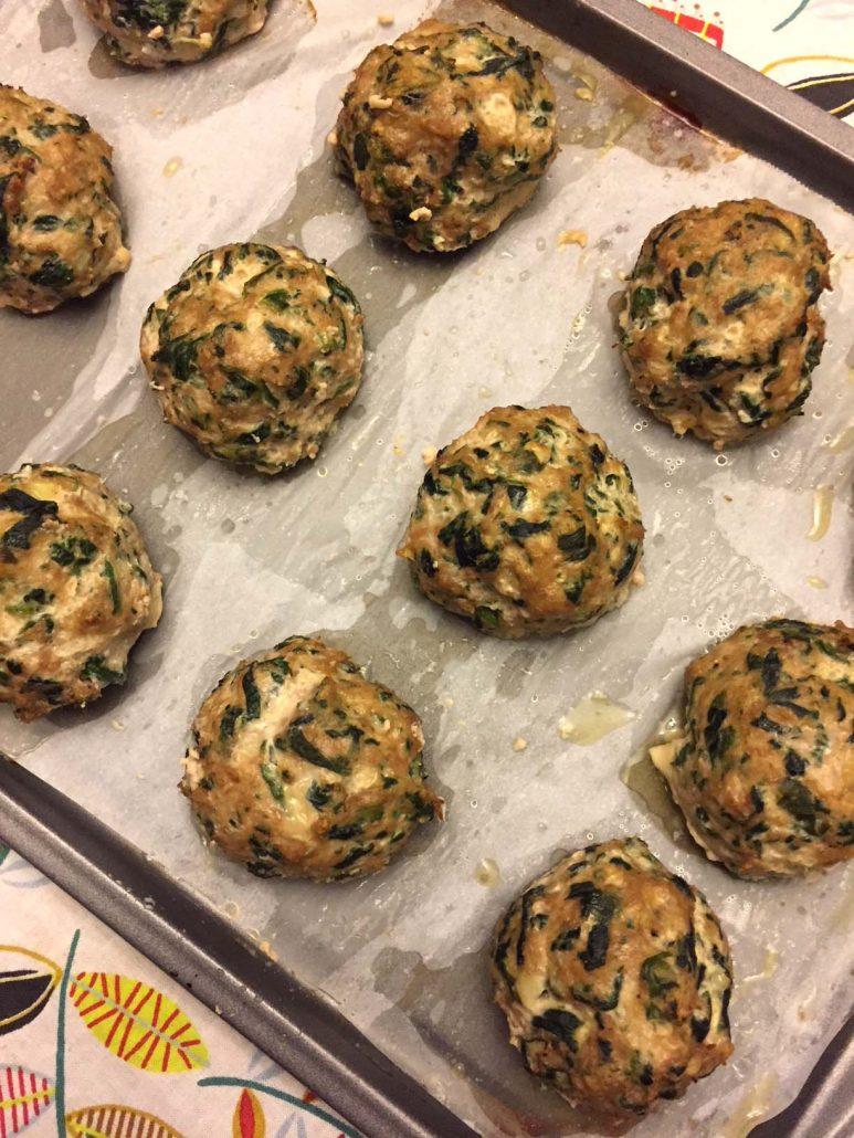 Healthy Turkey Spinach Meatballs Recipe