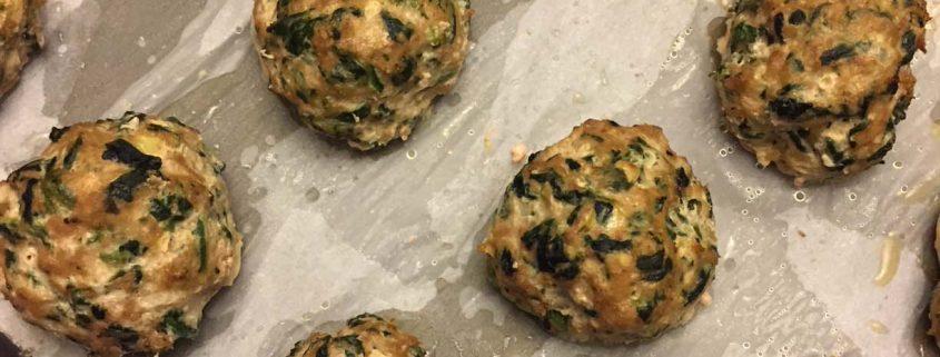 Keto Turkey Spinach Meatballs
