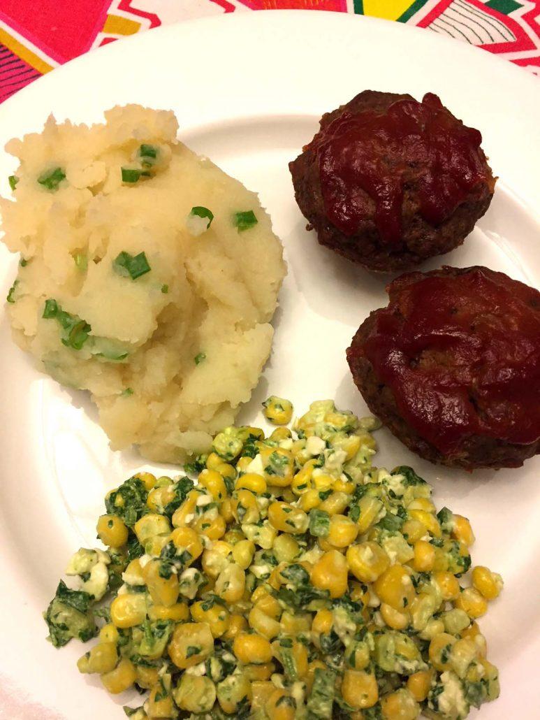 Mini Meatloaves Dinner