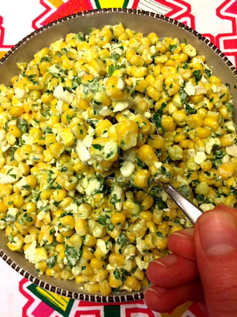 Mexican Street Corn Picnic Salad