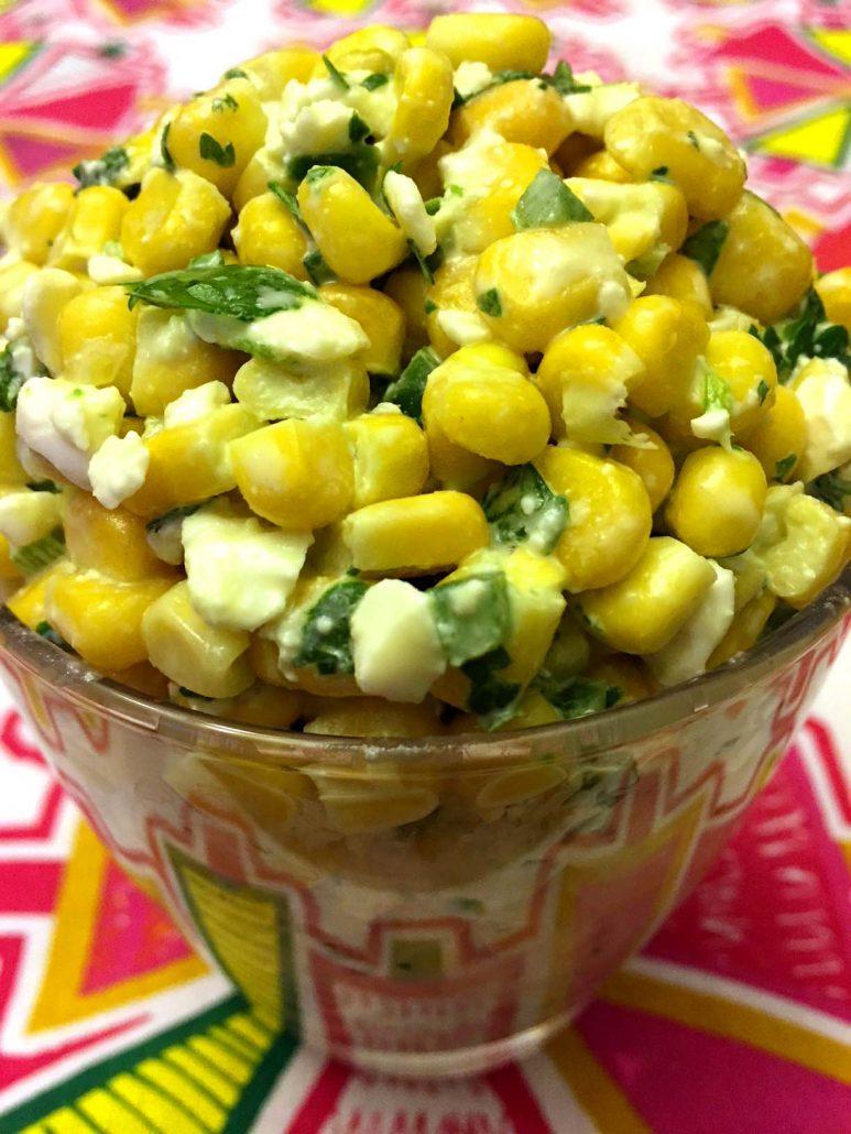 Easy Mexican Street Corn Salad Recipe