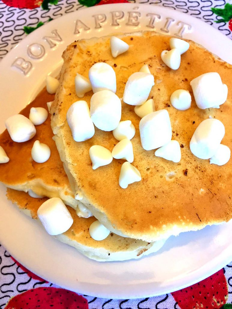 How To Make Marshmallow Pancakes