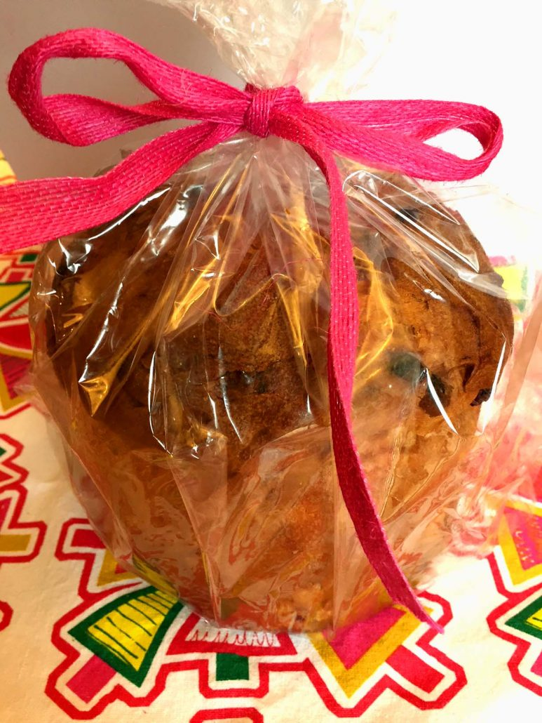 Homemade Panettone Bread Food Gift