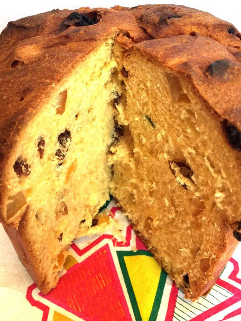Panettone Christmas Bread Fruit Cake Recipe