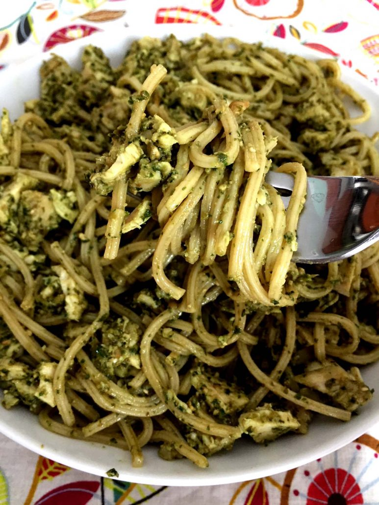 Chicken Pesto Pasta Easy Recipe
