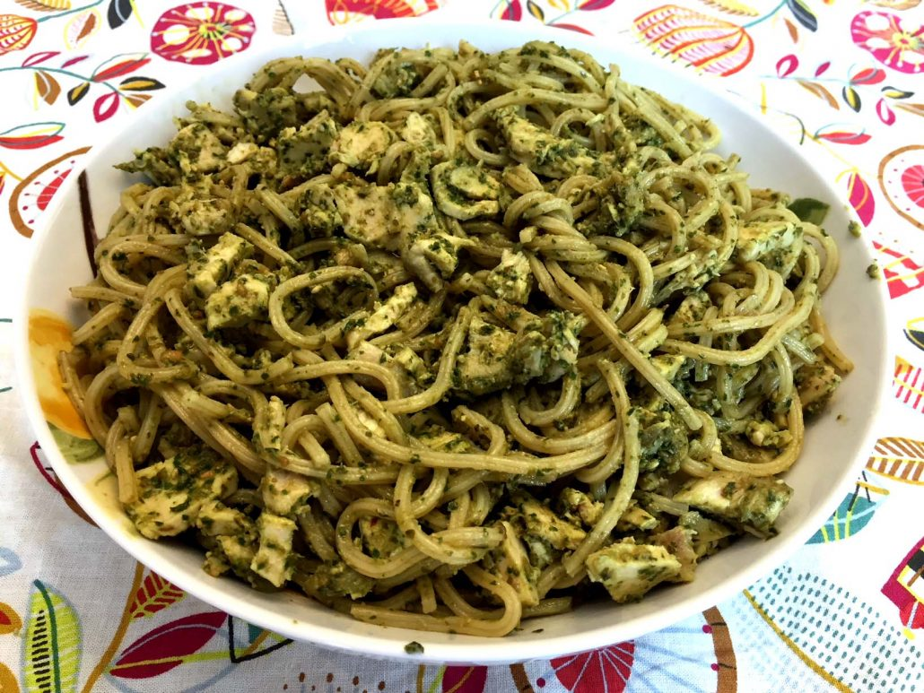 Best Chicken Pesto Pasta