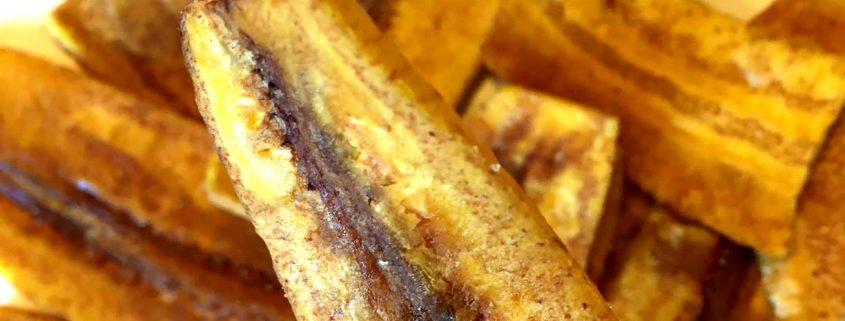 Crispy Baked Plantain Chips Recipe