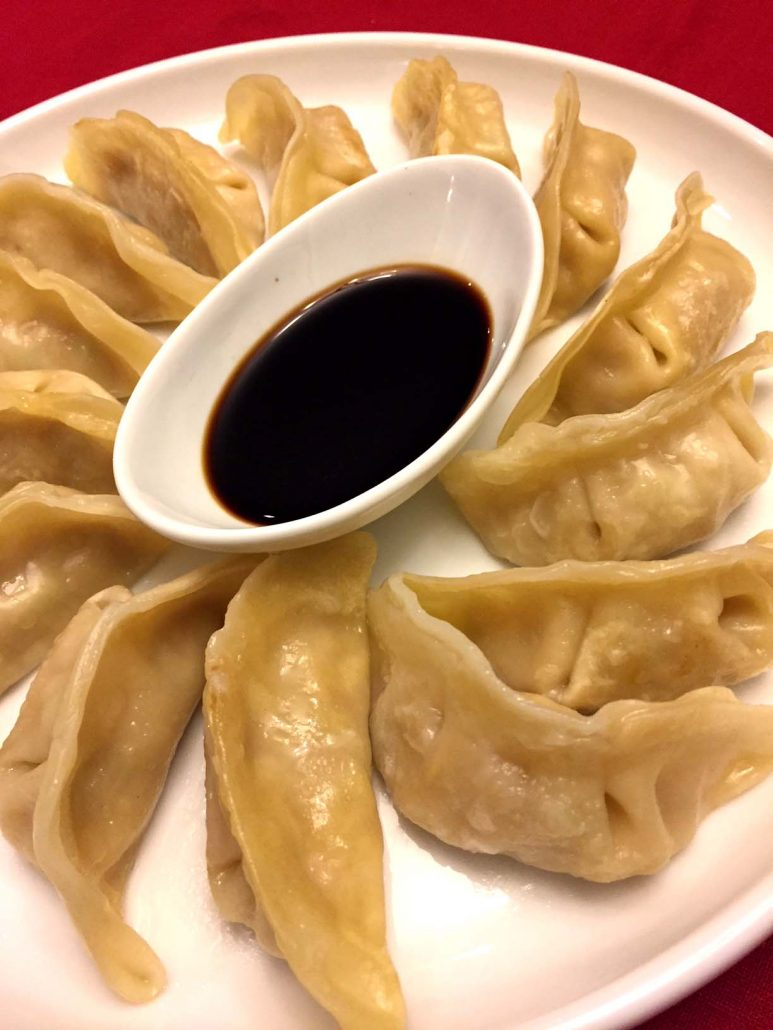 Potstickers Chinese Dumplings Recipe