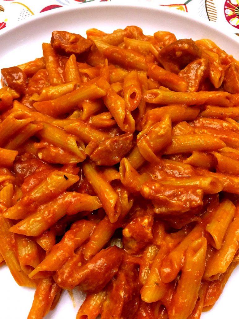 Cheesy Sausage One Pot Pasta Recipe