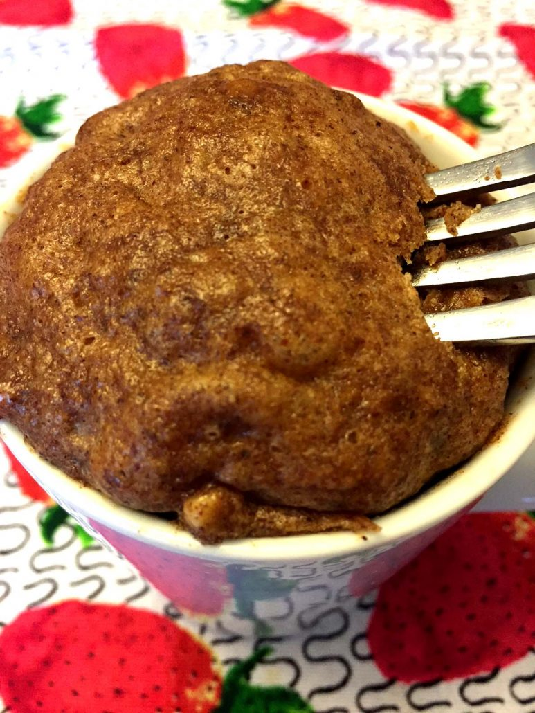 Almond Butter Mug Cake Recipe