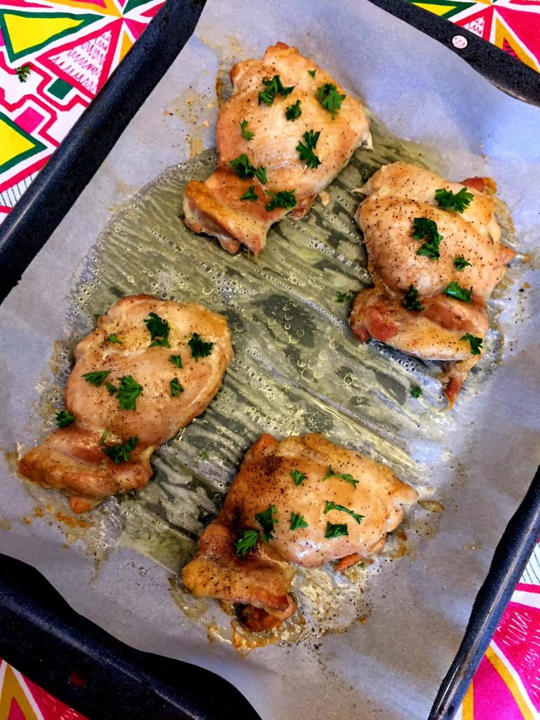 How To Bake Chicken Thighs In The Oven
