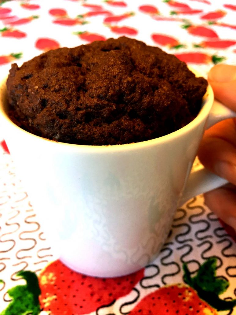Coconut Flour Chocolate Mug Cake Recipe