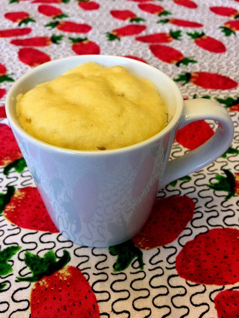 Gluten-Free Vanilla Mug Cake