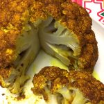 Spicy Curried Whole Roasted Cauliflower Recipe