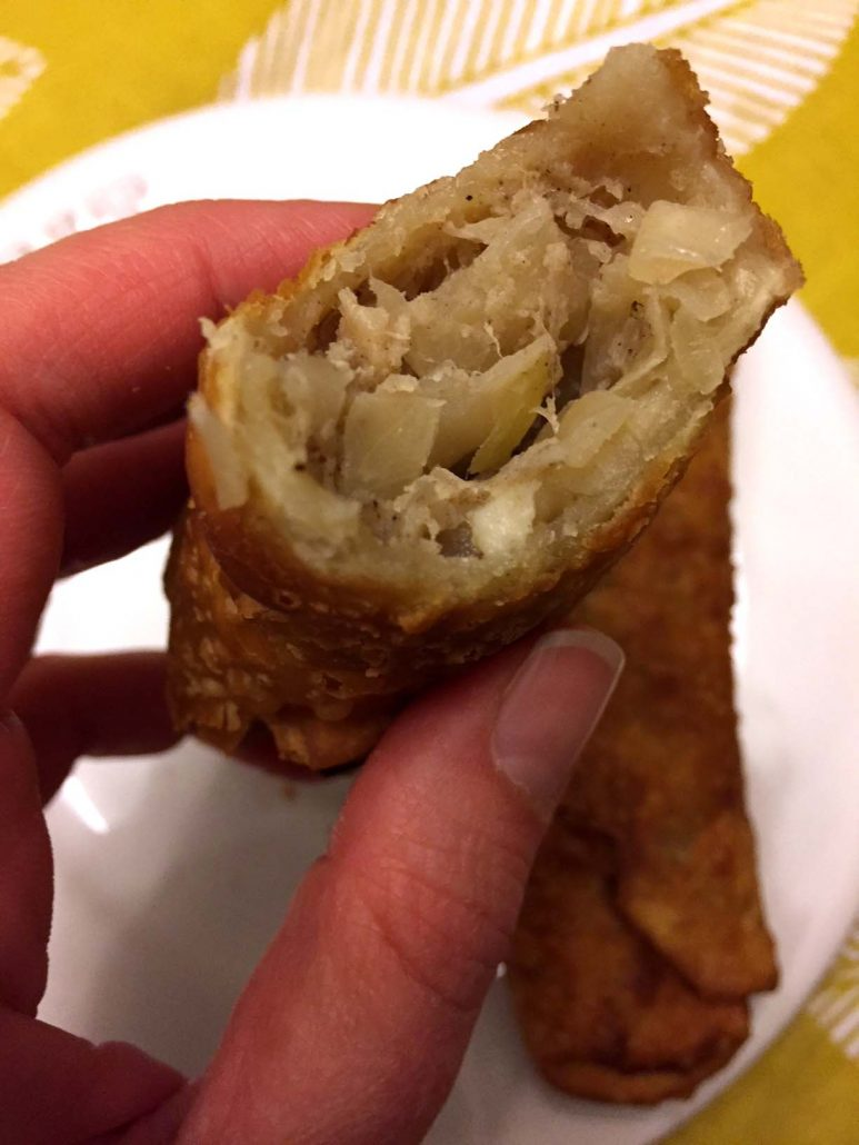Fried Pork Egg Rolls