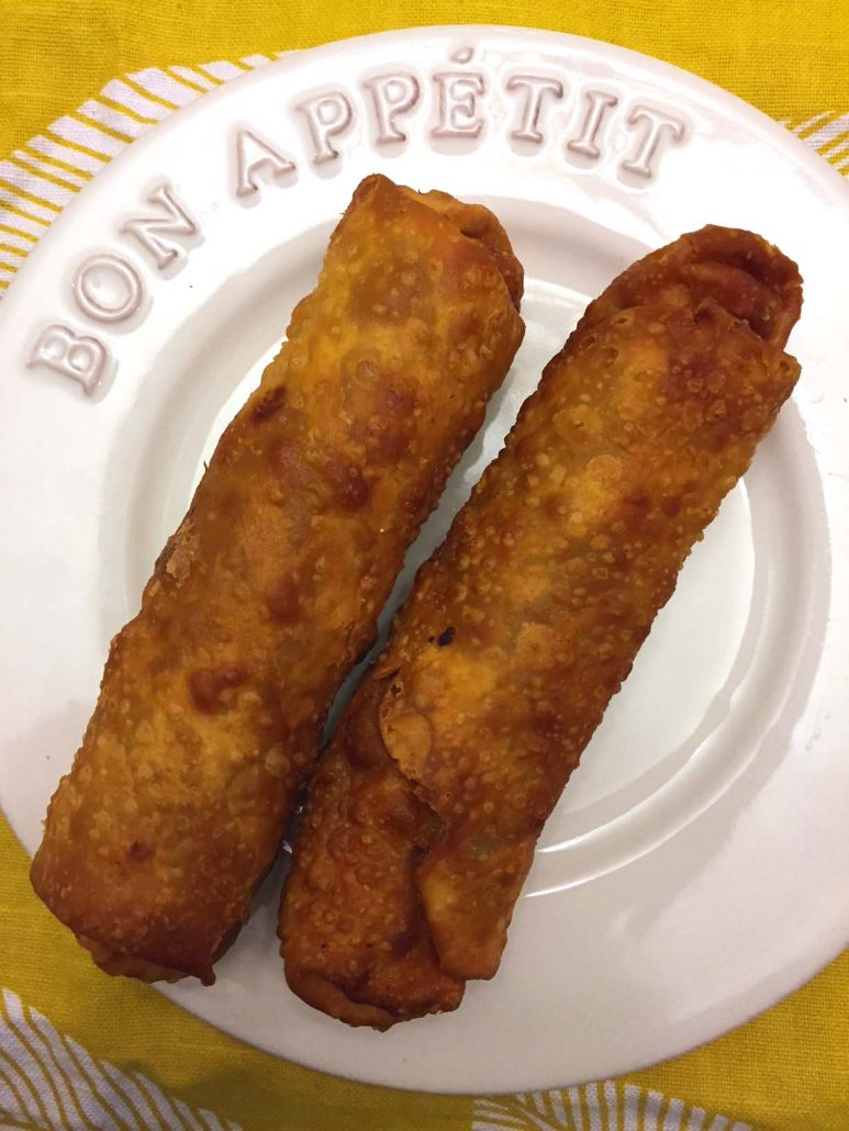 Authentic Homemade Chinese Egg Rolls