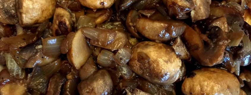 Sauteed Mushrooms And Onions Recipe