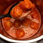 Instant Pot Meatballs Recipe In Tomato Sauce
