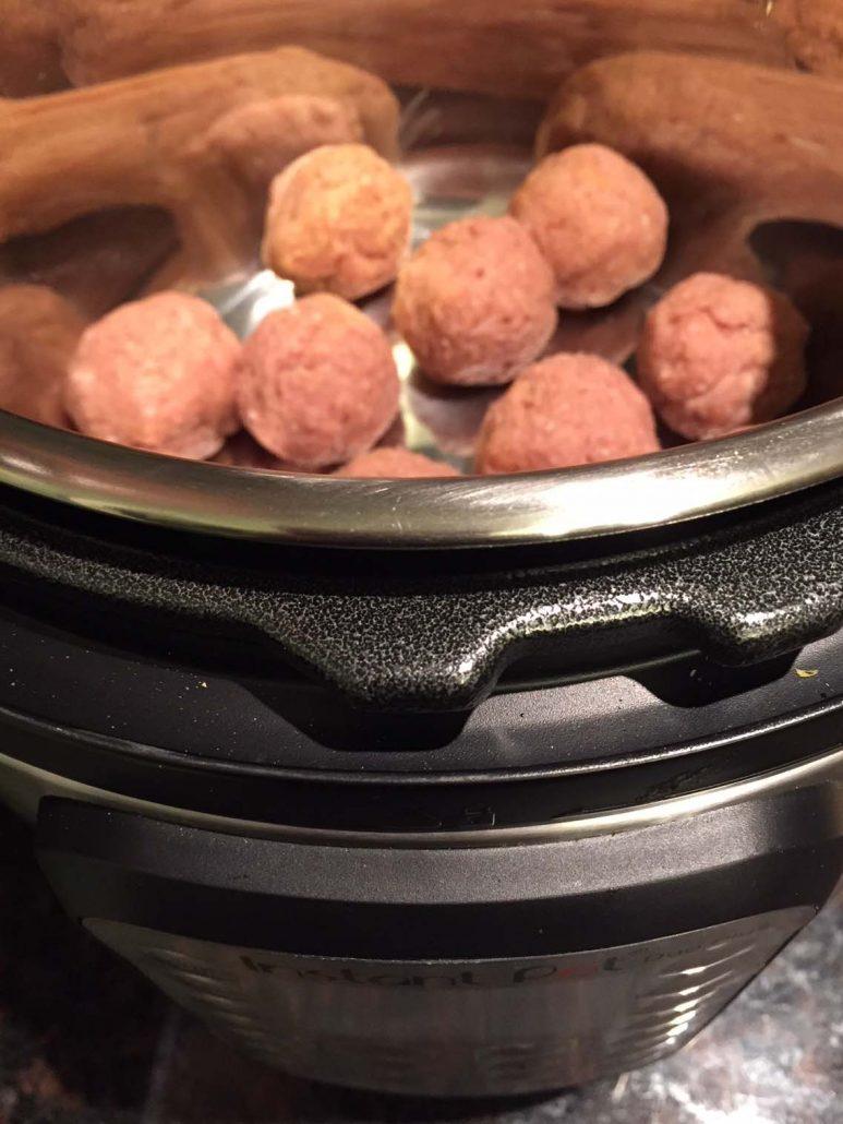 Instant Pot Ground Turkey Meatballs