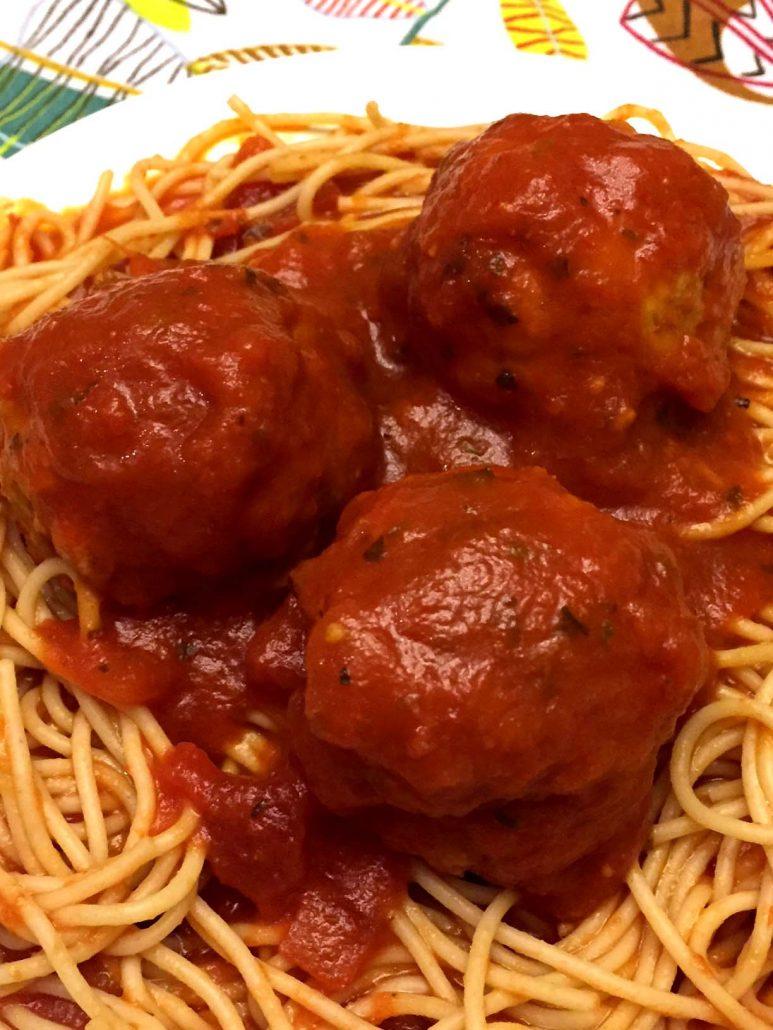 Pressure Cooker Meatballs Recipe
