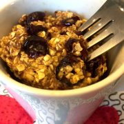 Gluten-Free Oatmeal Raisin Mug Cake Recipe