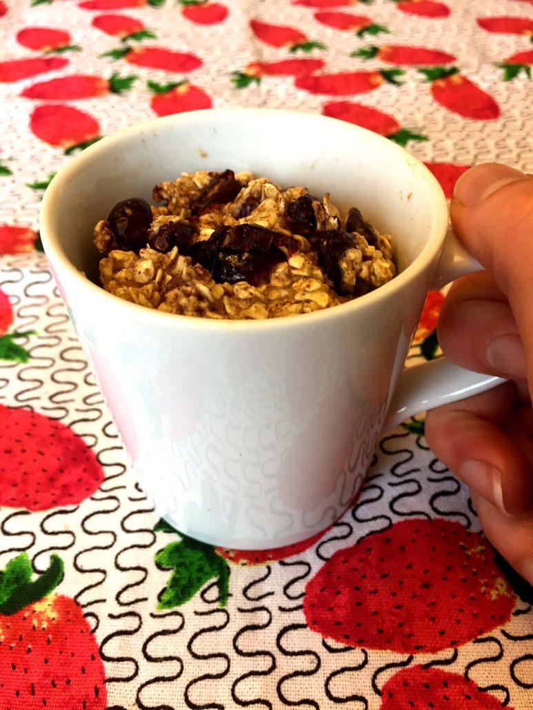 Baked Oatmeal In A Mug