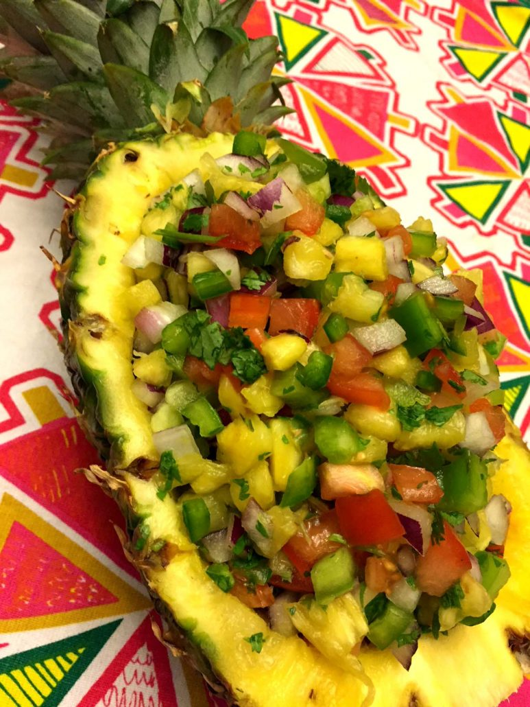 Easy Mexican Pineapple Salsa