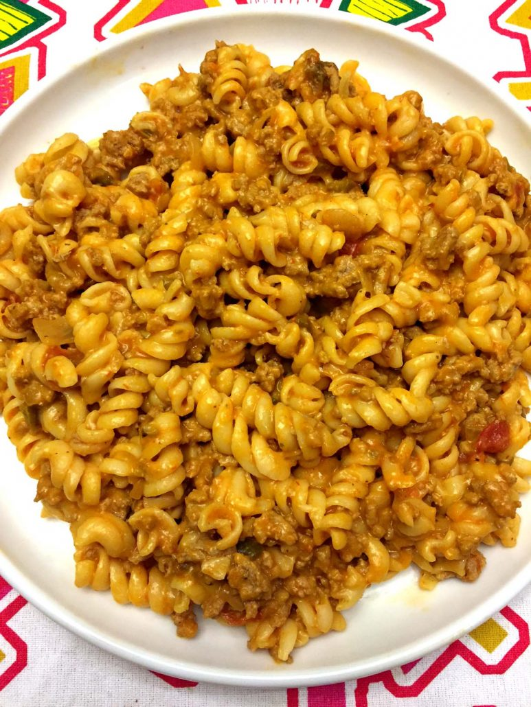 Easy One Pot Taco Pasta Recipe