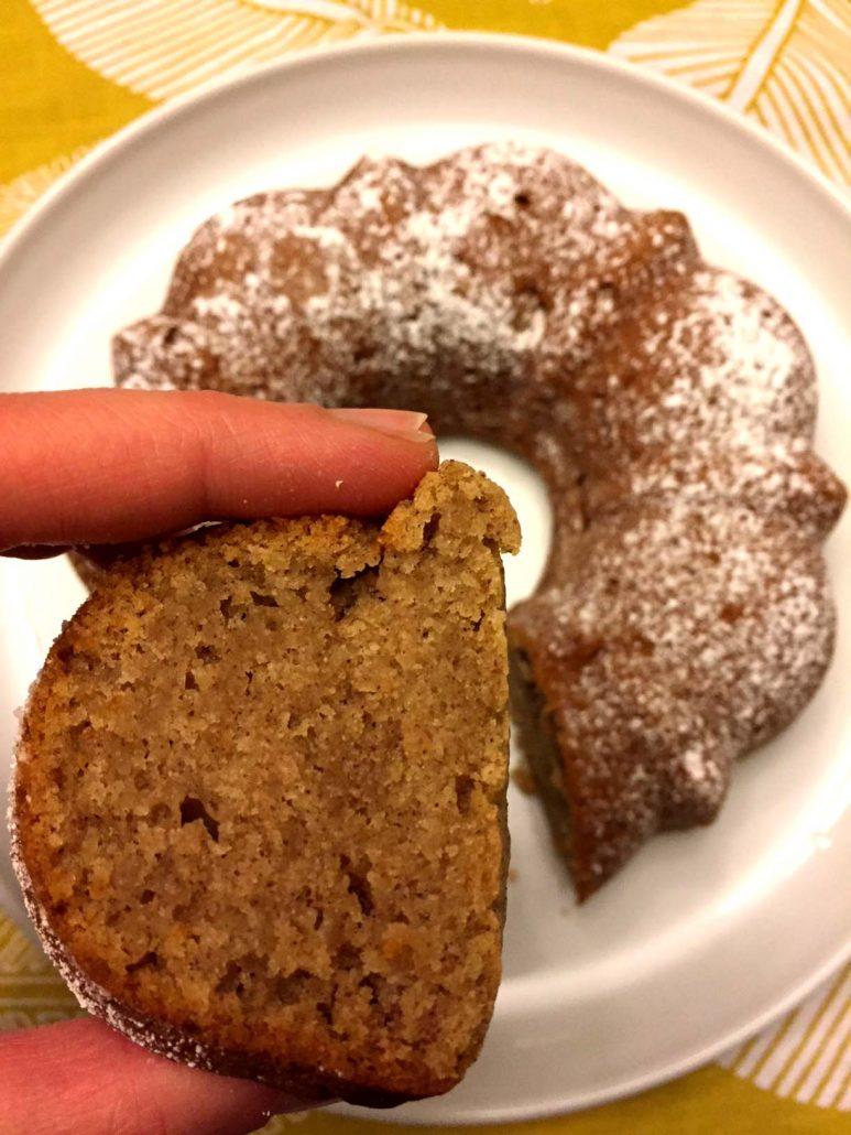 One-Bowl Applesauce Bundt Cake