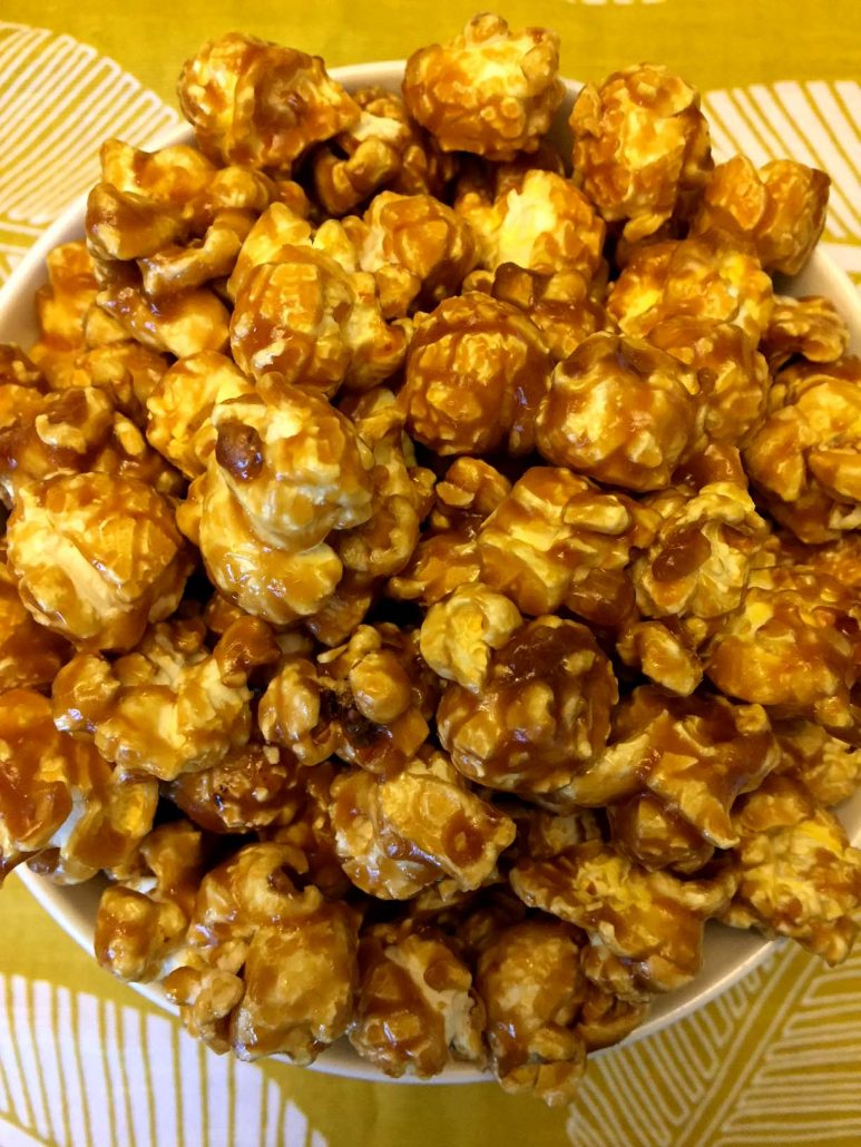 Easy Caramel Corn Recipe