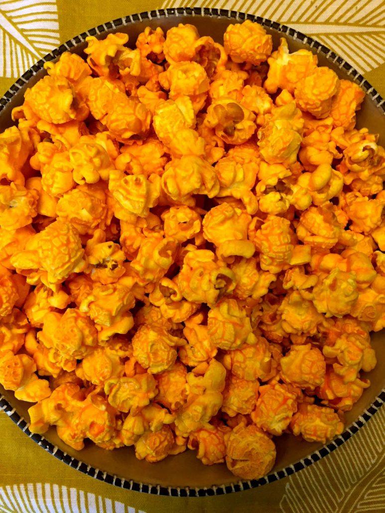 Cheddar Cheese Popcorn Recipe