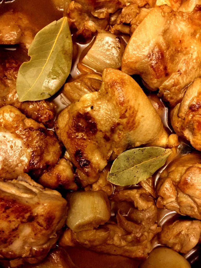 Adobo Chicken Bay Leaves
