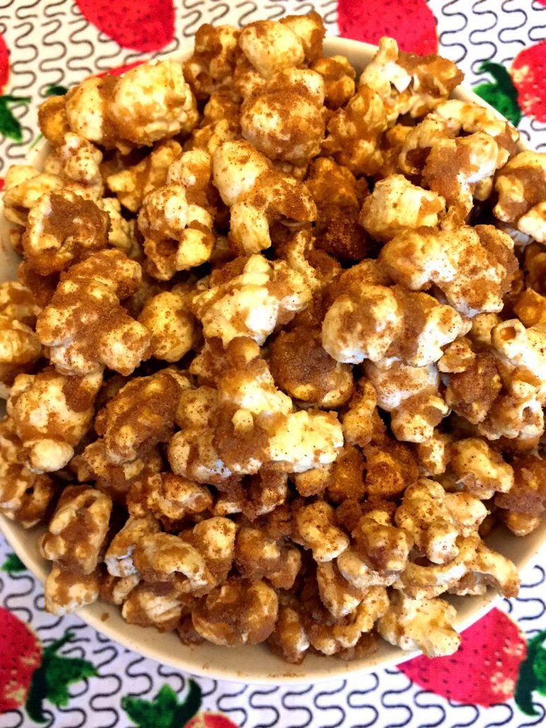 How To Make Cinnamon Sugar Popcorn