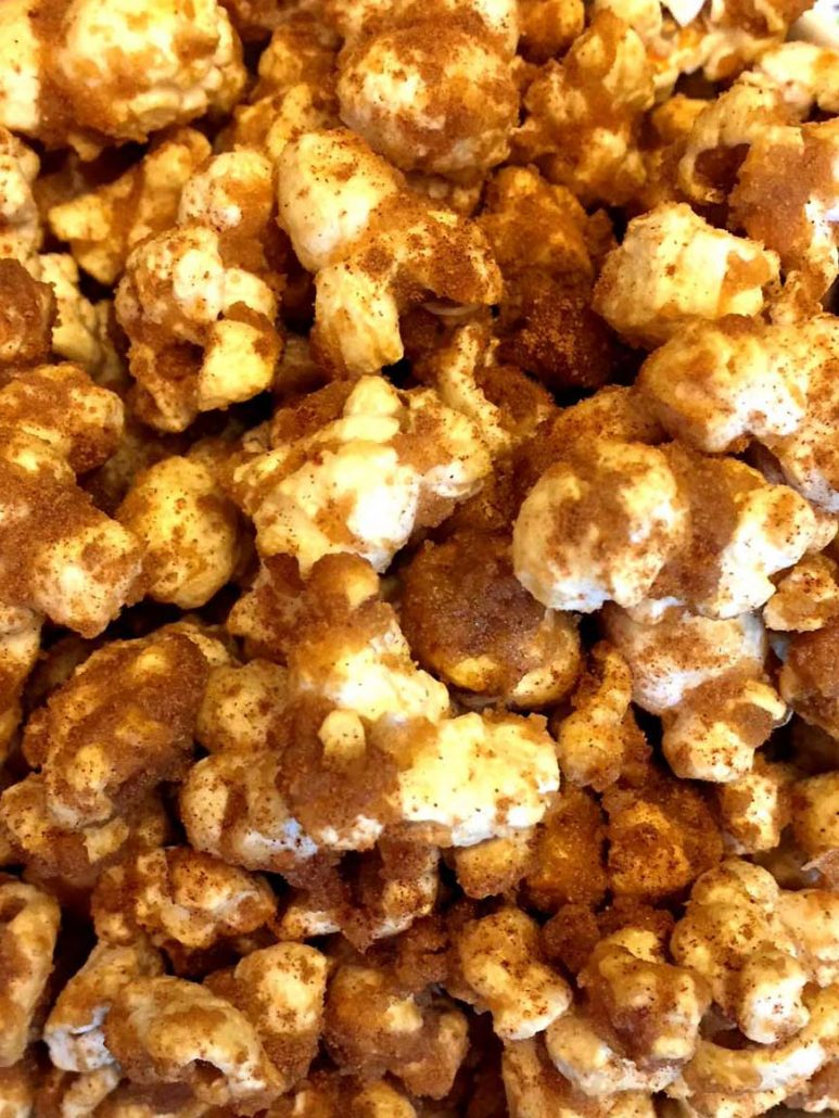 Homemade Gourmet Brown Sugar Popcorn