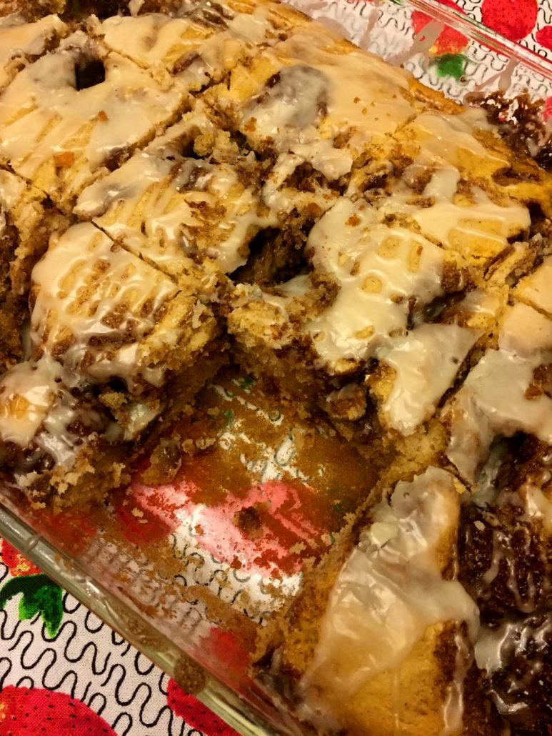 Cinnamon Sugar Swirls Cake Like Cinnabon