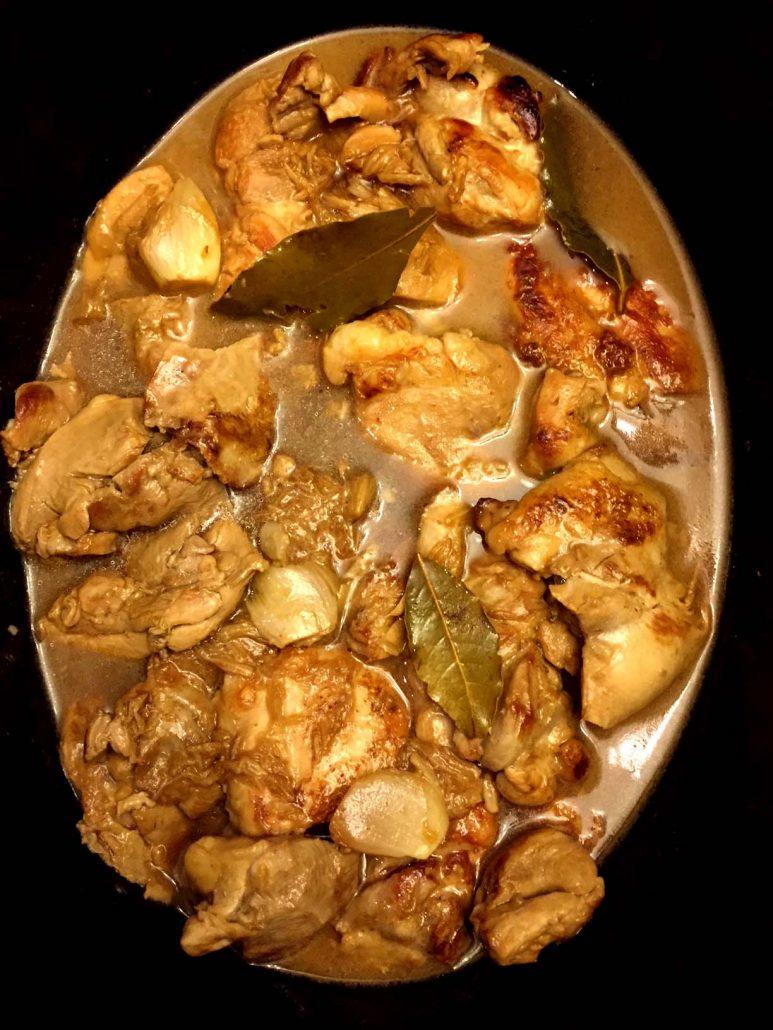 Slow Cooker Filipino Chicken Adobo