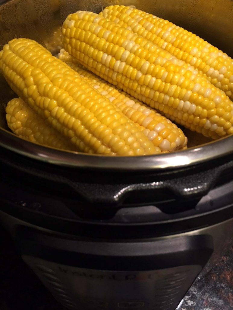 Instant Pot Corn On The Cob Cooking Time