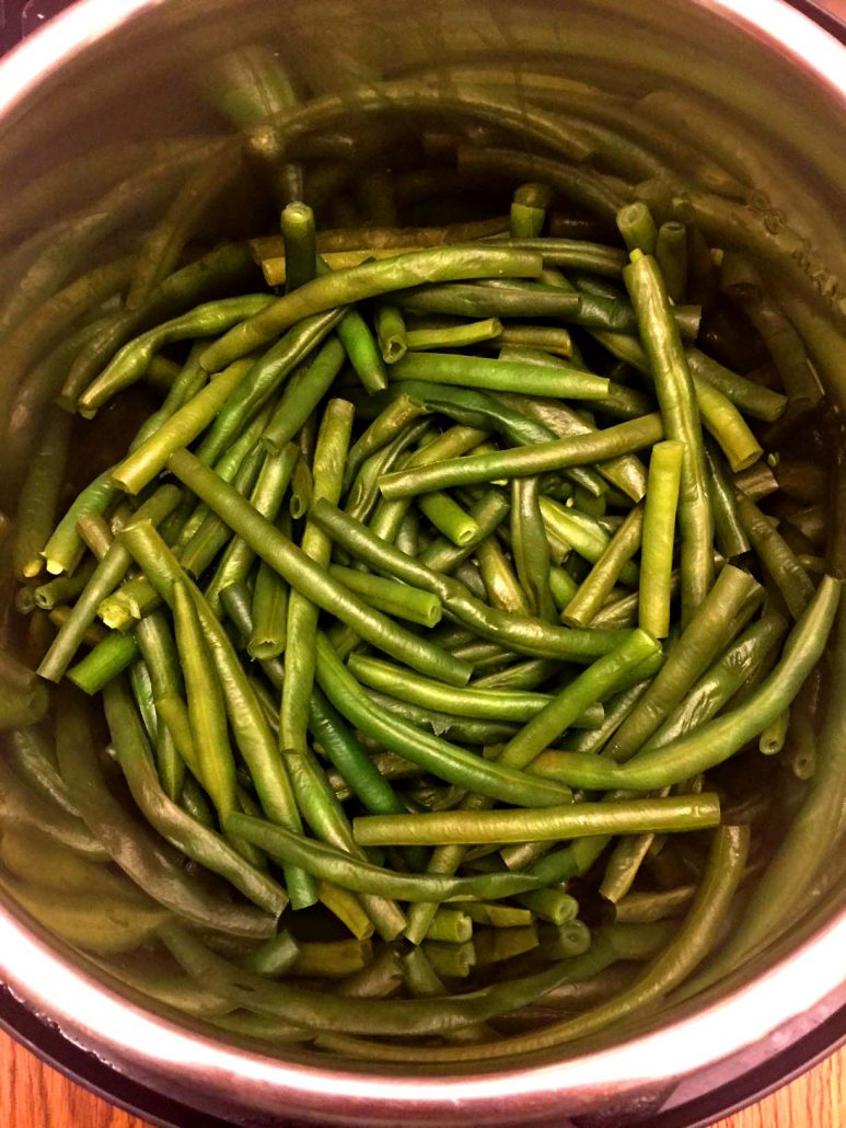 Pressure Cooker Green Beans Recipe