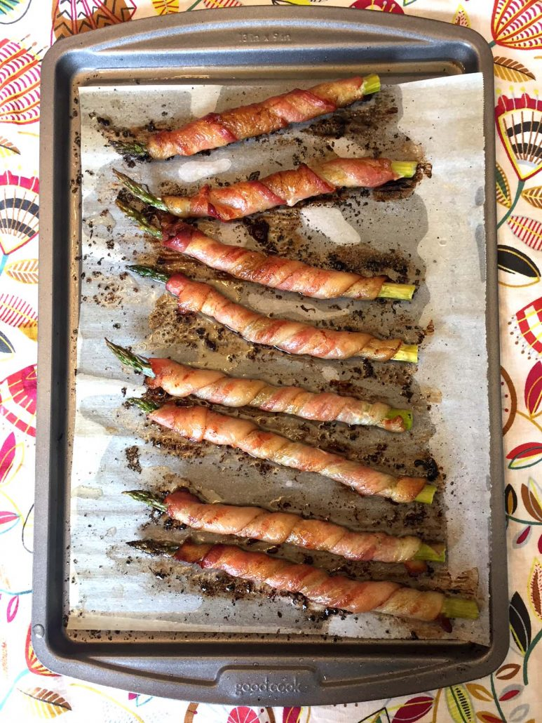 Bacon Wrapped Asparagus Baked In The Oven