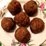 Easy Baked Italian Meatballs Recipe