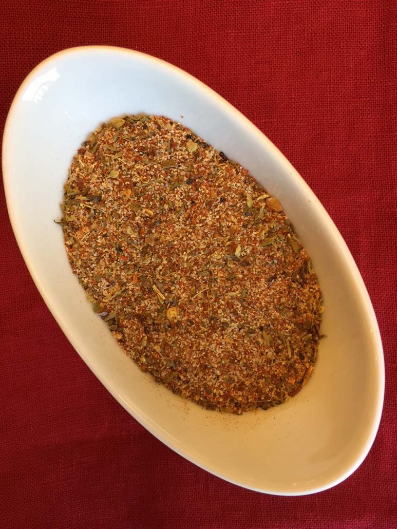 Cajun Seasoning Ingredients