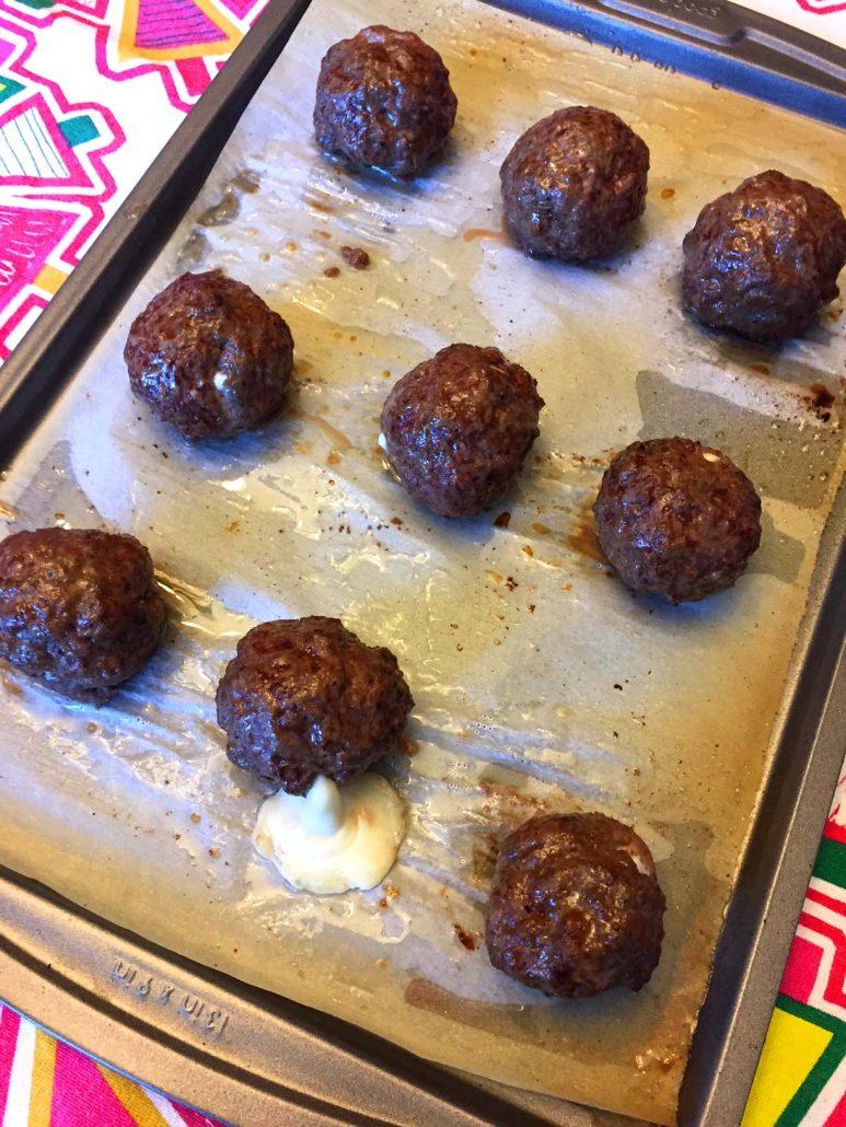 How To Make Cheese Stuffed Meatballs