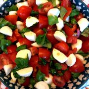 Chopped Caprese Salad Recipe
