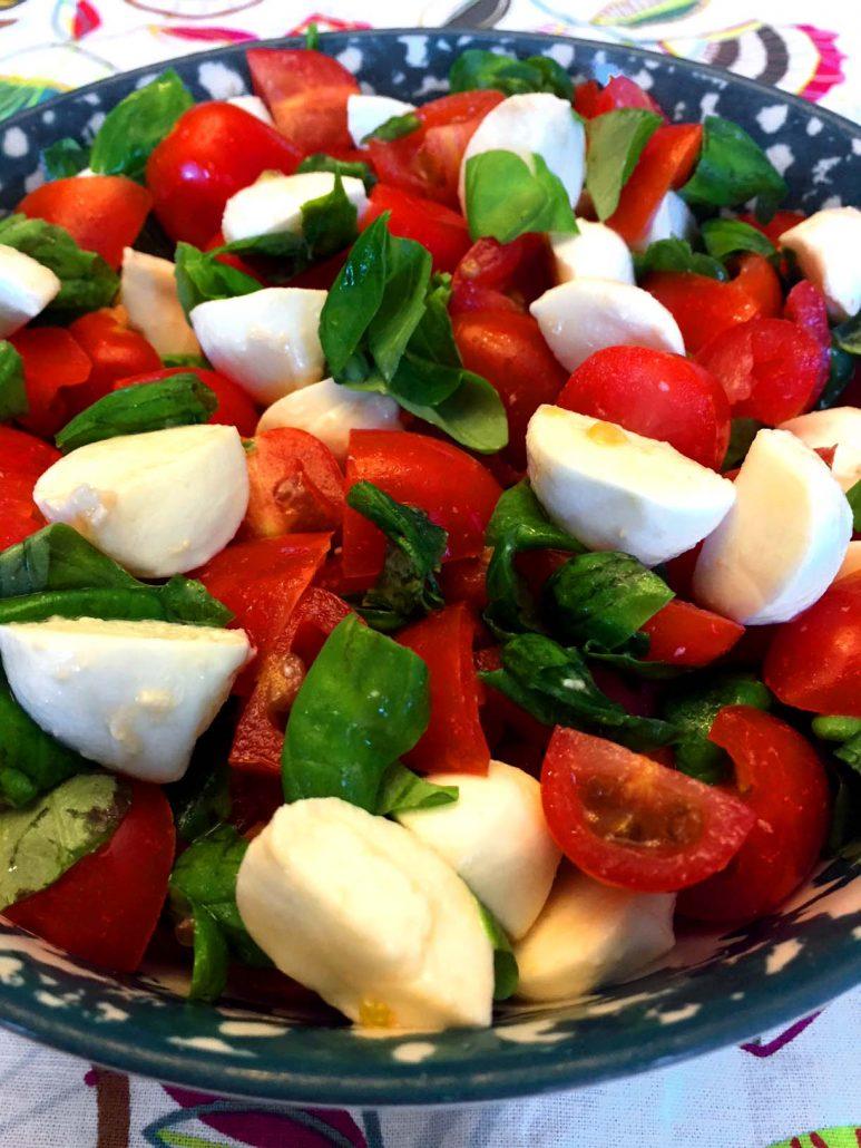 Italian Chopped Caprese Salad Recipe