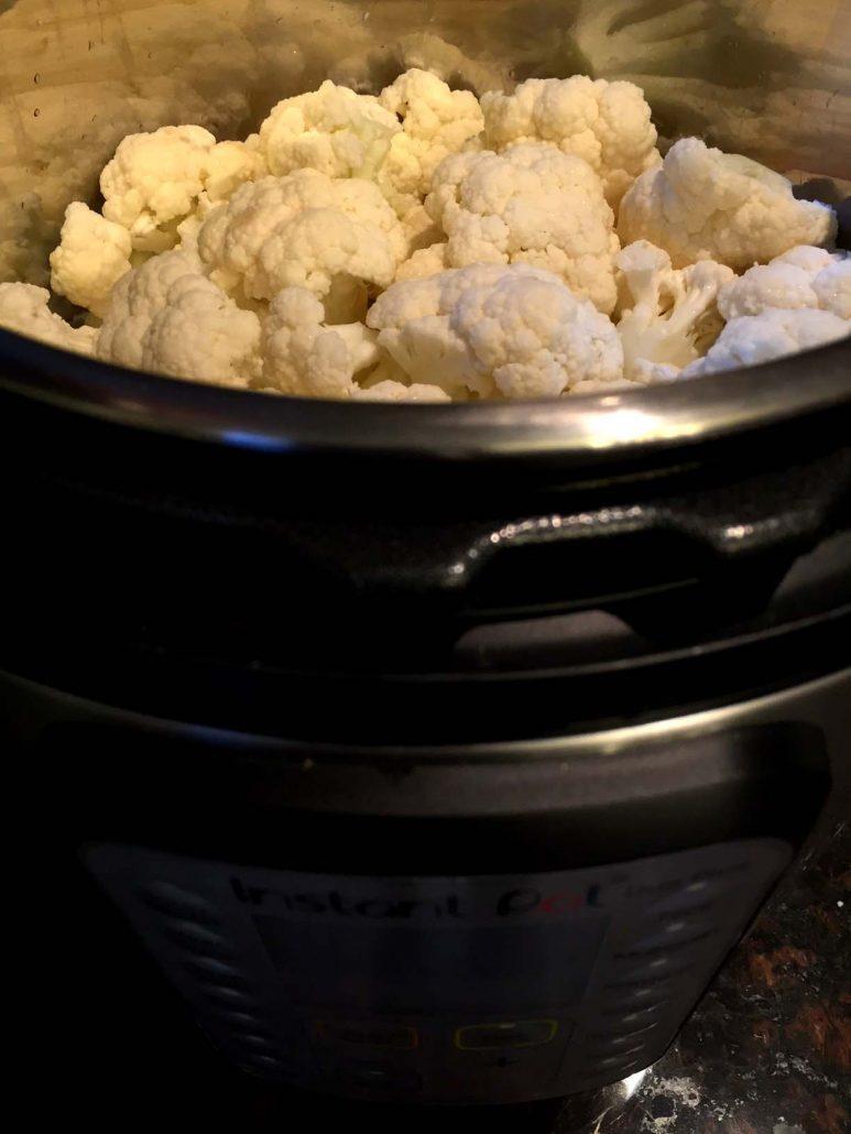 Instant Pot Pressure Cooker Cauliflower