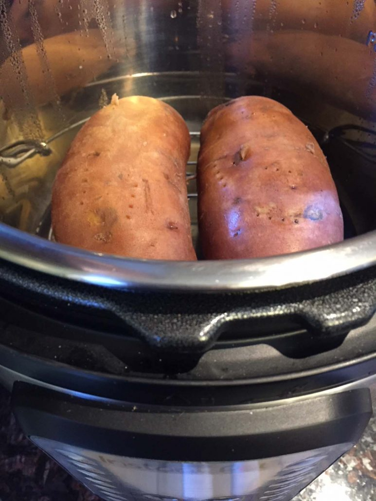 Instant Pot Sweet Potatoes Cooking Time