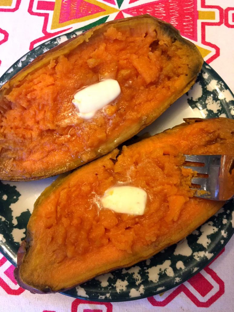 How To Bake Sweet Potatoes In The Instant Pot